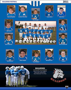Bulldogs Football Team Pictures - 2011