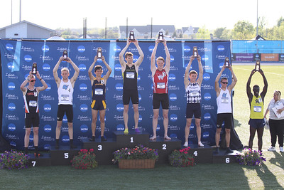 2014-05-24 NCAA D2 Outdoor Track and Field Championship - Podium - Men