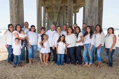 Parga Family at Huntington Beach Pier