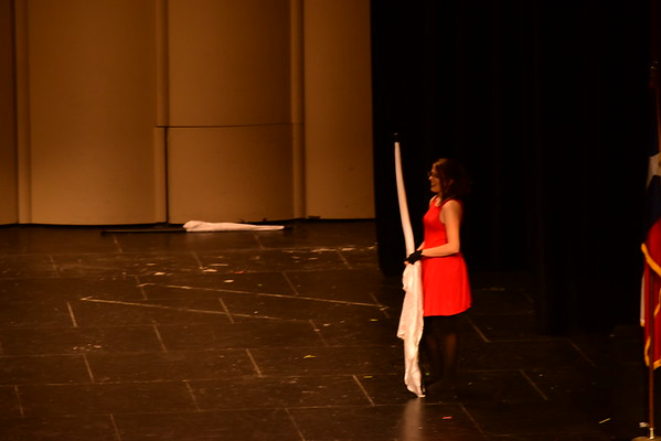 Color Guard Spring Concert