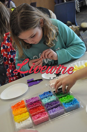 Library Bead Crafts 2019