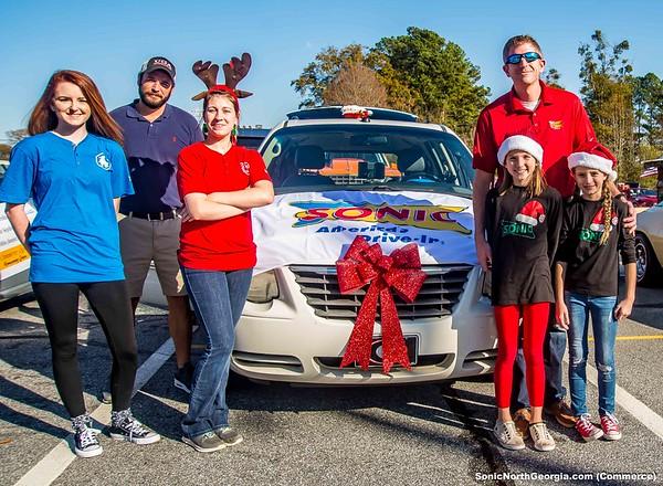 Christmas Parade Commerce GA 2018