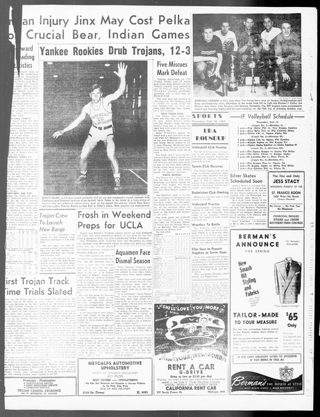 Daily Trojan, Vol. 40, No. 85, February 24, 1949