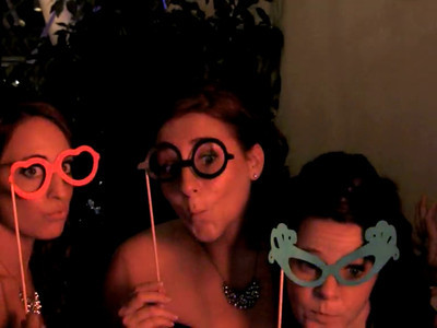 Kristine & Justin Wedding Photo Booth Video
