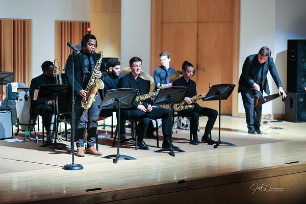 WSU Jazz Lab Band II - Wayne State Shaver Recital Hall - 12-5-2019