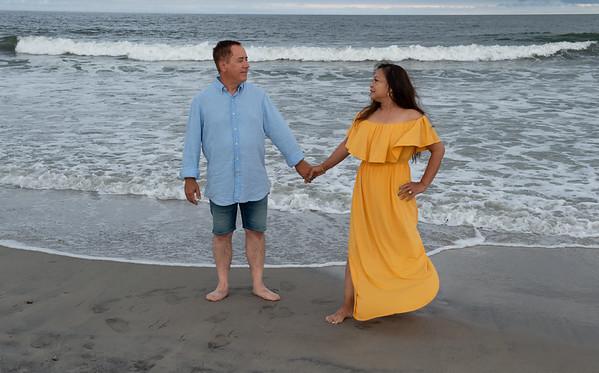 ANNABELLE & JOE BEACH SHOTS