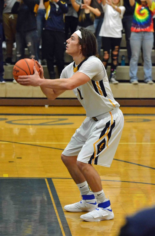 . Paul DiCicco - The News-Herald Wickliffe�s Justin Fortkamp attempts a free throw late in the third quarter.