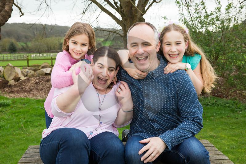 David, Judy & Family