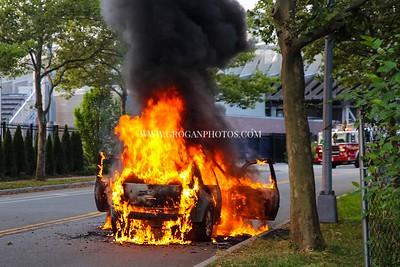 Flushing Meadow Park Car Fire 7/10/19