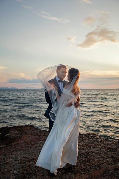Katya & Ilias Wedding. Glyfada, Greece, 2019.