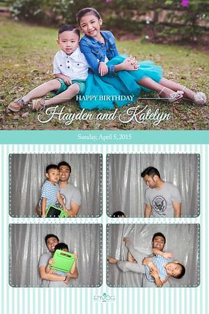 Hayden & Katelyn's Birthday (prints)