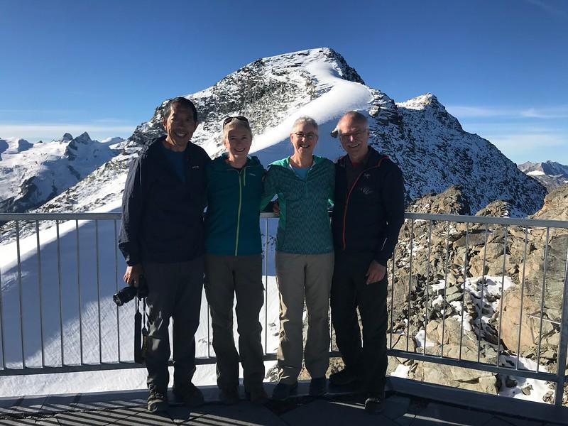 Top of Corvatsch lift