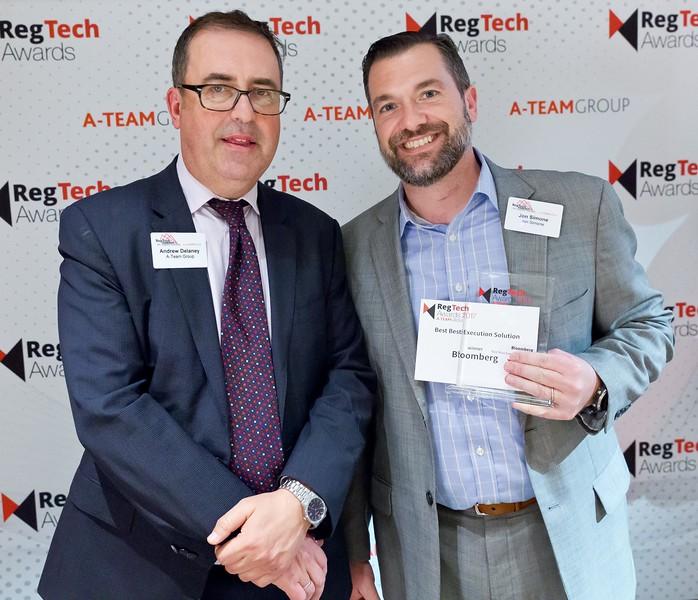 RegTech Awards 2017 Best Best-Execution Solution, Jon Simone