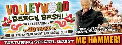20090710 Volleywood - MC Hammer Celebrates CSSC 20th Anniversary