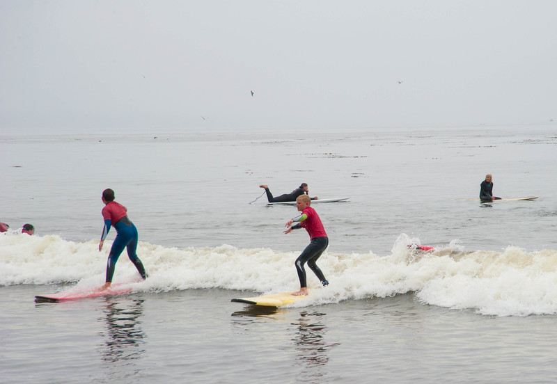 Surfing Capitola