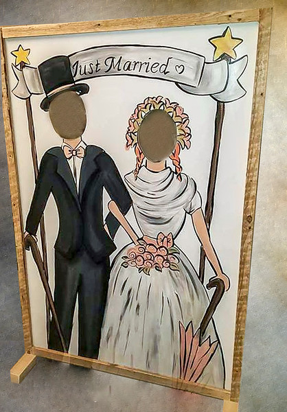 Just Married Vintage Frame.jpg