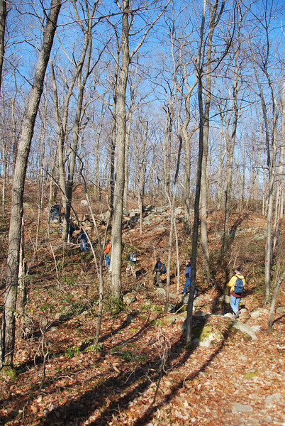 Fahnestock State Park hike 112011