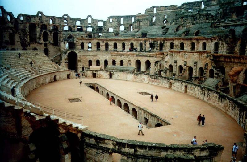 Roman Ampitheatre, El Jem [Tunisia]