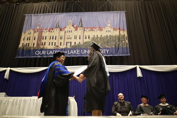 OLLU Graduation Class of 2016