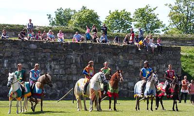Kuressaare lossipäevad 2016 rüütliturniir