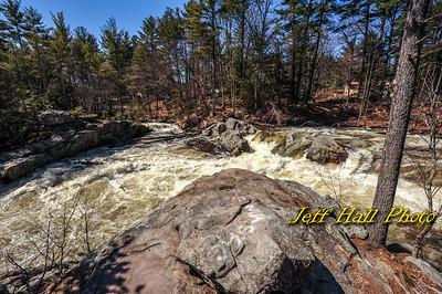 Souhegan River Falls Spring 2017