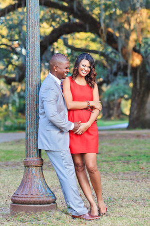 Danyelle and Greg Kennedy New Orleans City Park Session
