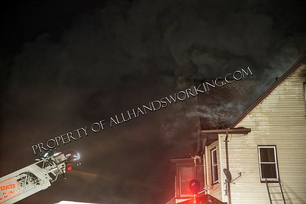 Stratford 2nd alarm 361-63 Canaan Rd. dwelling fire