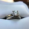 0.78ct Round Brilliant Diamond Bridal Set by Cartier 65