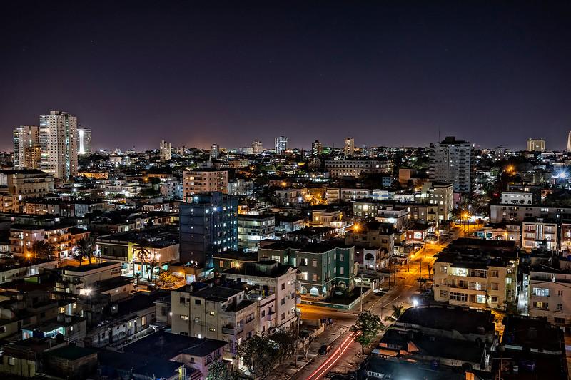 Havana at night...