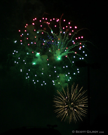4th of July Fireworks - Paramus