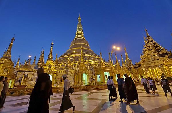 La Pagode Schwedagon