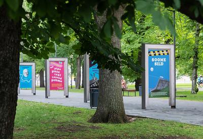Talsinki näitus Tammsaare pargis