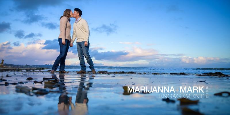 Marijanna and Mark Engagement @ Capitola Beach