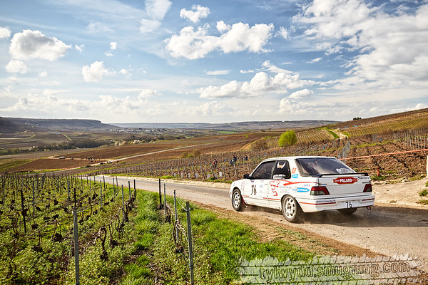 Rallye Epernay - Vins de Champagne 2017
