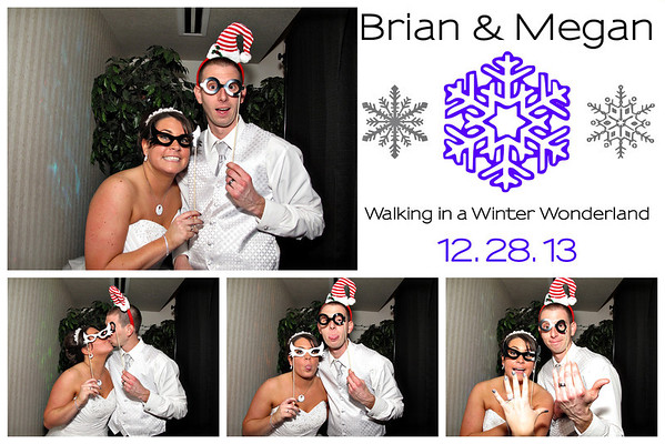 Megan & Brian Wedding Photo Booth