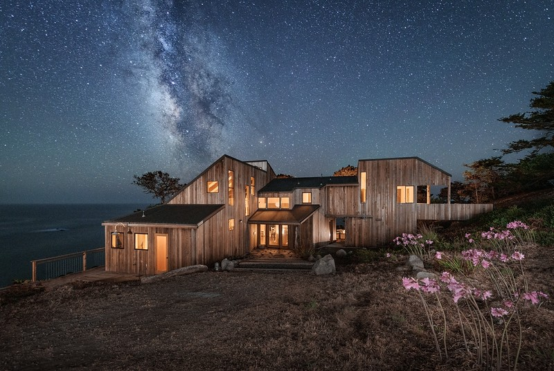 Front of House & Milky Way
