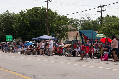 Granbury 4th of July Parade with BRCC