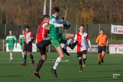 Baronie JO19-1 - Feyenoord sc JO19-1 (30-11-2019) : uitslag 3-3