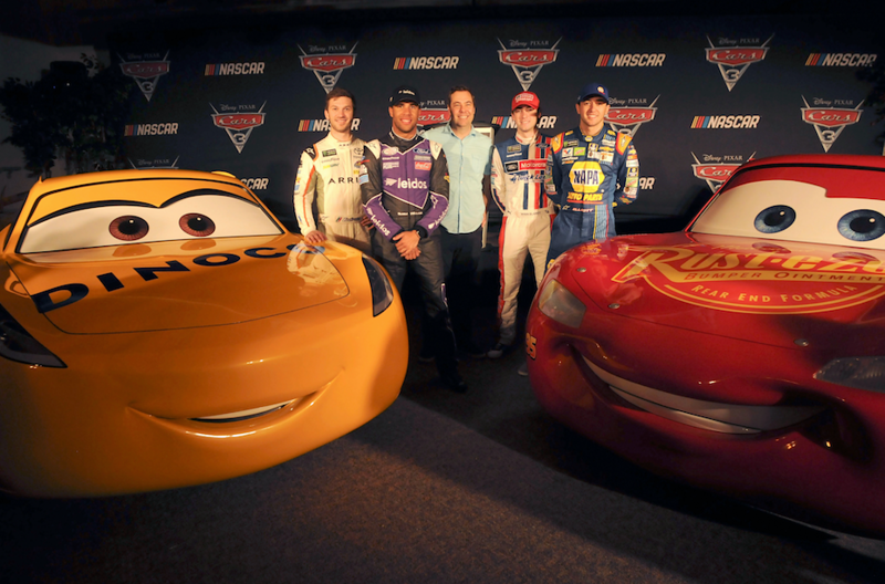CARS 3 teams up with NASCAR for season long events