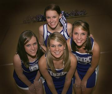 Dar Basketball Cheer group/Ind photos 2008 2009