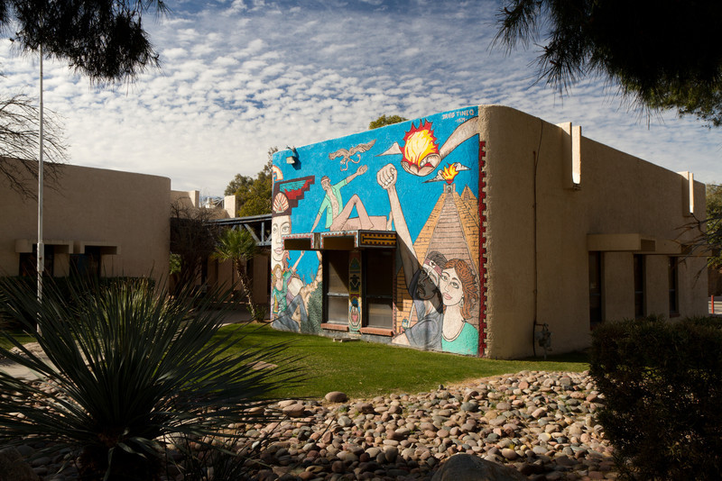 Komunitní centrum v Tucsonu.