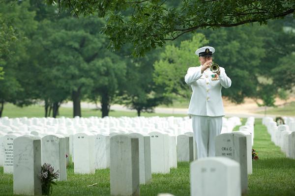 LCDR John F. Lusby Arlington Cemetery