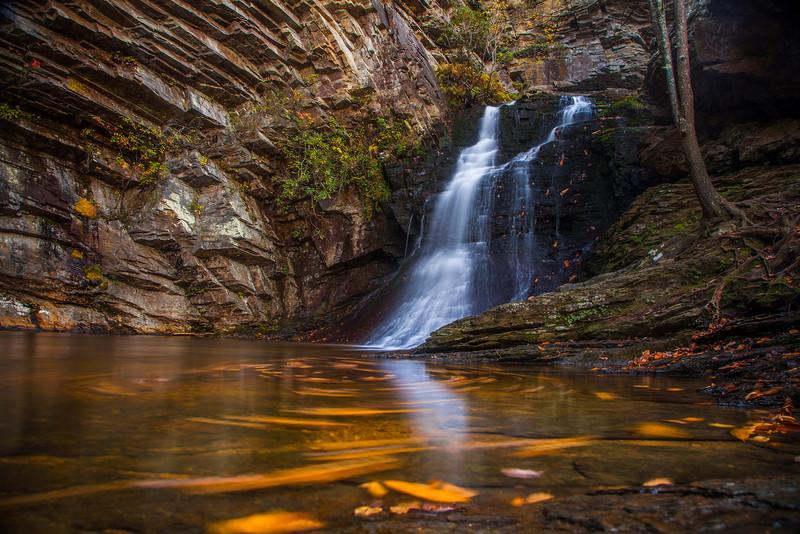 Autumn Lower Cascade Falls
