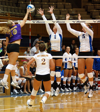 Duke Volleyball vs. ECU Pirates - August 24, 2007