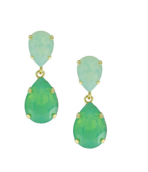Classic Drop Earrings / Pacific Opal