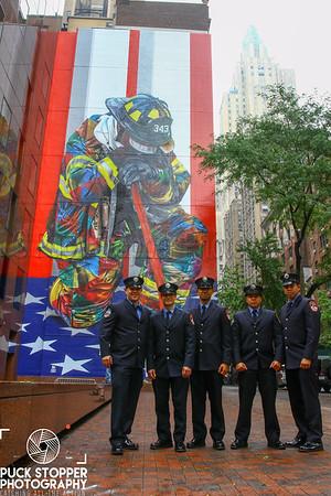 Tribute Lights - Manhattan, Brooklyn, NY & Jersey City, NJ - 9/11/18