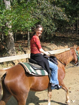 Horseback ride trip with Angie