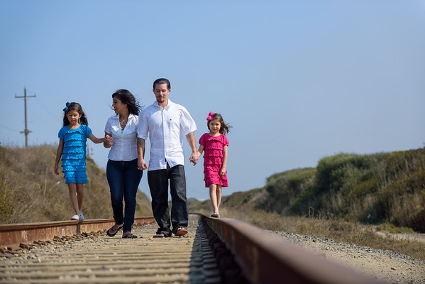 Monica, Harley and Kids (Family Photography) @ Panther Beach, Santa Cruz, California
