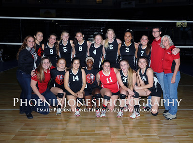 11-7-14 - Valley Lutheran v Gregory School - AIA D5 Volleyball Playoff