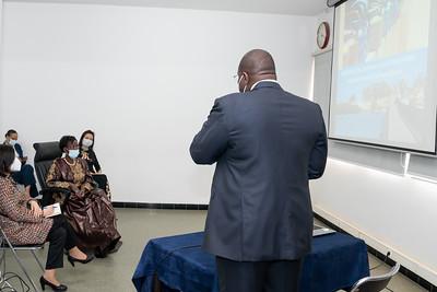 Visite de l'Institut Pasteur - Sénégal